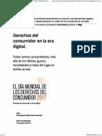 Derechos Del Consumidor en La Era Digital. _ Procuraduría Federal Del Consumidor _ Gobierno _ Gob
