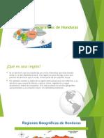 Regiones Geográficas de Honduras