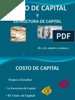 COSTO DE CAPITALY ESTRUCTURA DE CAPITAL- PRESENTACION -L.A.L.