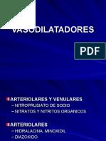 VASODILATADORES DE ACCIÓN DIRECTA