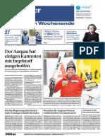 Gesamtausgabe Aargauer Zeitung Aarau 2021-01-23