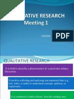 Qualitative Research.tintin.20 Januari 2021