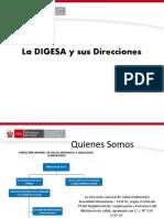 1 2 5 ROLES Y ORGANIZACION DE LA DIGESA
