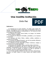 47903844 Paz Sixto Una Insolita Invitacion
