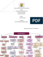 Mapa conceptual Teoría de la resistencia