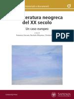815 5998 Zaccone Vol OA Letteratura Neogreca XX Sec-2