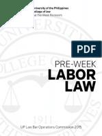 BOC 2015 Labor Law Pre-Week
