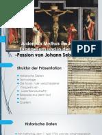 Juden Als Mythos in Johannes-Passion Von Bach