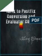 Infix To PostFix Stack
