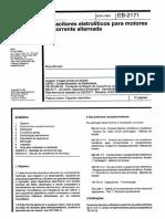 NBR EB 02171 - Capacitores eletroliticos para motores de corrente alternada