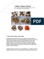 Fertility Chinese Herbs