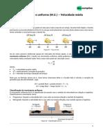 SEMANA 1 - intensivoenem-física1-Movimento retilíneo e uniforme (M.U.) - velocidade média-15-07-2020-d0cc2af99ae95fa6c811cfd8e5031245