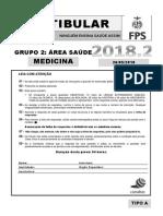 FPS medicina 2018.2 vestibular