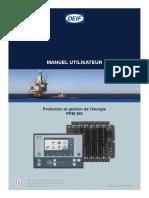 PPM 300 operator's manual 4189341147 FR