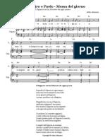 Santi-Pietro-e-Paolo-29-giugno-Messa-del-giorno-Il-Signore-mi-ha-liberato-da-ogni-paura-sal-34-Full-Score