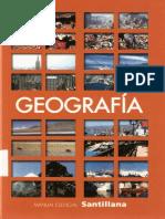 Manual Esencial Santillana, Geografia