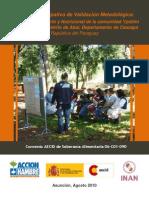 Investigación Alimentaria Participativa de una Comunidad Aché. Paraguay