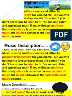 Copy of Music Description……..