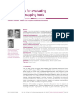 A framework for evaluating knowledge-mapping tools