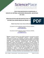 RESSOCIALIZAÇÃO E RECONSTRUÇÃO DA IDENTIDADE, O DESAFIO DO SISTEMA CARCERÁRIO BRASILEIRO UM ESTUDO DE CASO_interscienceplace