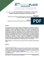 Ressocialização e Reconstrução Da Identidade, o Desafio Do Sistema Carcerário Brasileiro Um Estudo de Caso_linkscienceplace