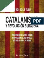 Jordi Solé Tura - Catalanismo y revolucion burguesa