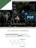 Processori di Dinamica Audio