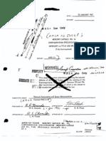 Mercury Capsule No. 14, Configuration Specification (Mercury-Little Joe No. 5(a)