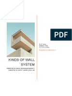 3 Kinds of Wall System