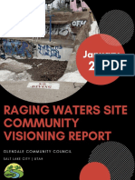 Raging Waters Community Event Report, 2021