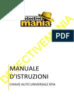 DMVAU0090 - Manuale Chiave Auto Universale Spia-1