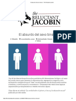 El absurdo del sexo binario – The Reluctant Jacobin