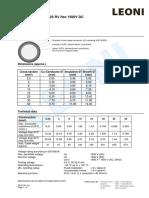 BETAflam Solar 125 RV flex 1500V DC_E_voltagedrop  current load