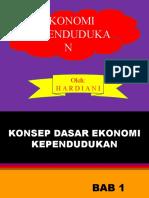 PPT - Ekonomi Kependudukan