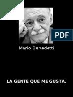 Mario Benedetti - Gente