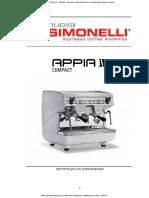 Nuova-Simonelli-Appia-II инструкция