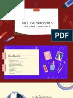 NTC ISO 9001_2015