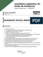 Prova 04 - Assistente Técnico Adm 12.09.2011