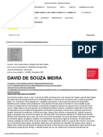 David de Souza Meira - Memórias da ditadura