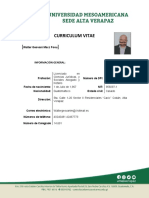 Formato actualización CV UMES Sede Alta Verapaz  walter