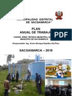 PLAN DE TRABAJO ATM 2019 -SACSAMARCA