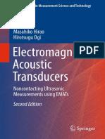 Electromagnetic Acoustic Transducers by Masahiko Hirao and Hirotsugu Ogi 2nd Ed