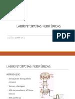 AULA 4- Labirintopatias Periféricas