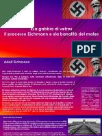 """Il processo Eichmann e la """"banalità del male"""""""