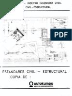 Estandar dibujo civil estructural Outokumpu