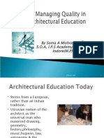 Arch Education