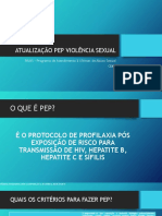 Atualização Pep Violência Sexual