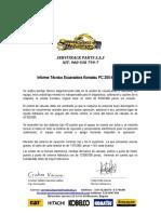 INFORME TECNICO PC200-7