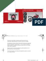 Manual de propietario Crosstourer 1200 VFR1200X