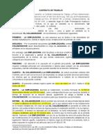 Modelo de Contrato de Trabajo (2)